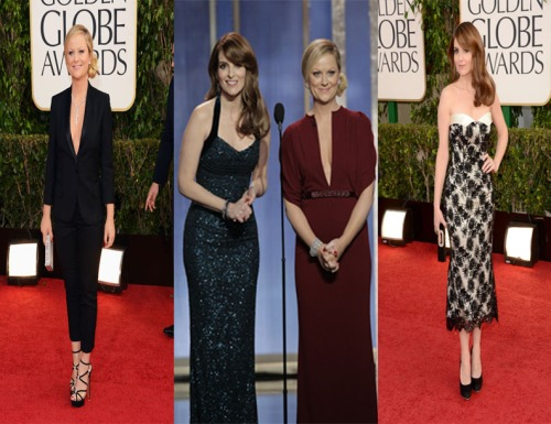 Golden Globes Hostesses Tina Fey and Amy Peohler rock the award ceremony