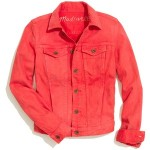 MADEWELL The Jean Jacket in Coral ($90) madewell.com