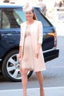 Jenny Packham dress and coat