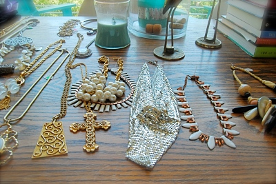 Costumier Vintage Runway Jewelry; Photo: Jenna Salak