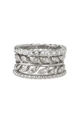 Laurel Stackable Rings $49