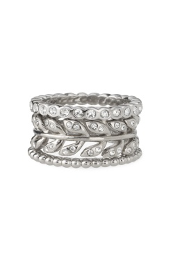 Laurel Stackable Rings $49