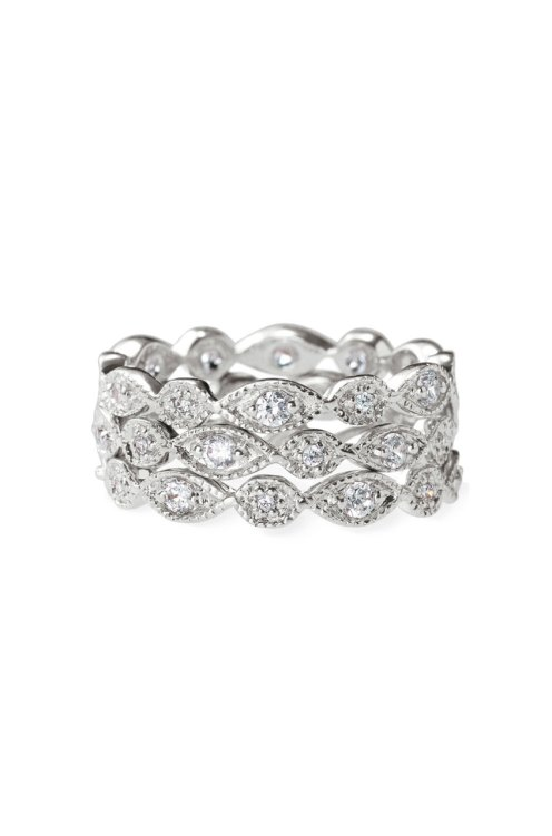 Stackable Deco Rings $49